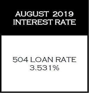 August 2019 Interest Rate