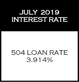 July 2019 Interest Rate