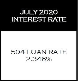 July 2020 Interest Rate