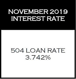 November 2019 Interest Rate
